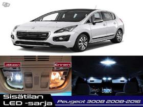 Peugeot 3008 (MK1) Sisätilan LED -sarja ;x16, Lisävarusteet ja autotarvikkeet, Auton varaosat ja tarvikkeet, Tuusula, Tori.fi