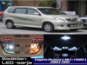 Toyota Avanza (F600) Sisätilan LED -sarja ;x5, Lisävarusteet ja autotarvikkeet, Auton varaosat ja tarvikkeet, Tuusula, Tori.fi