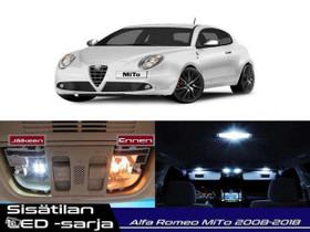 Alfa Romeo MiTo (955) Sisätilan LED -sarja ;x10, Lisävarusteet ja autotarvikkeet, Auton varaosat ja tarvikkeet, Tuusula, Tori.fi