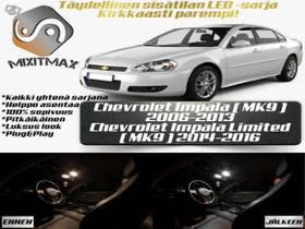 Chevrolet Impala (MK9) Sisätilan LED -sarja ;x11, Lisävarusteet ja autotarvikkeet, Auton varaosat ja tarvikkeet, Tuusula, Tori.fi