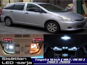 Toyota Wish (AE10) Sisätilan LED -sarja ;x8, Lisävarusteet ja autotarvikkeet, Auton varaosat ja tarvikkeet, Tuusula, Tori.fi