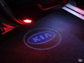 Kia logolliset projektorivalot oviin ; 2kpl sarja, Lisävarusteet ja autotarvikkeet, Auton varaosat ja tarvikkeet, Tuusula, Tori.fi