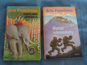 Arto Paasilinna 2 kirjaa, Kaunokirjallisuus, Kirjat ja lehdet, Kangasniemi, Tori.fi