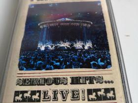 Phil Collins Serious Hits Live kasetti, Musiikki CD, DVD ja äänitteet, Musiikki ja soittimet, Liperi, Tori.fi