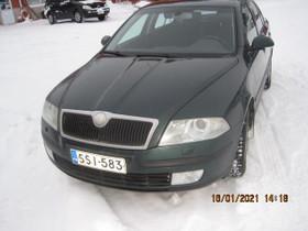SKLODA OCKTAVIA 2007 VIHREÄ 2,0l DIESEL KATS 4400, Autot, Taivassalo, Tori.fi