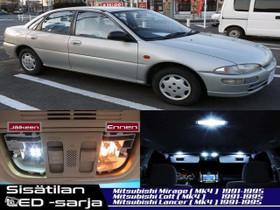 Mitsubishi Lancer Sisätilan LED -sarja ;x6, Lisävarusteet ja autotarvikkeet, Auton varaosat ja tarvikkeet, Tuusula, Tori.fi