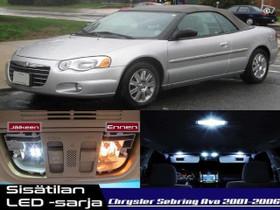 Chrysler Sebring (MK2)Avo Sisätilan LED-sarja;x11, Lisävarusteet ja autotarvikkeet, Auton varaosat ja tarvikkeet, Tuusula, Tori.fi