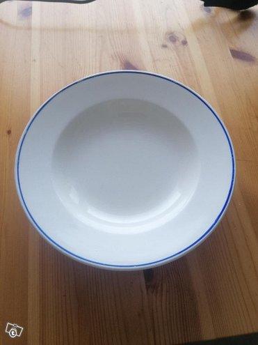 Arabia syvät lautaset 3kpl