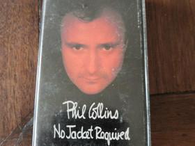 Phil Collins No Jacket Required kasetti, Musiikki CD, DVD ja äänitteet, Musiikki ja soittimet, Liperi, Tori.fi