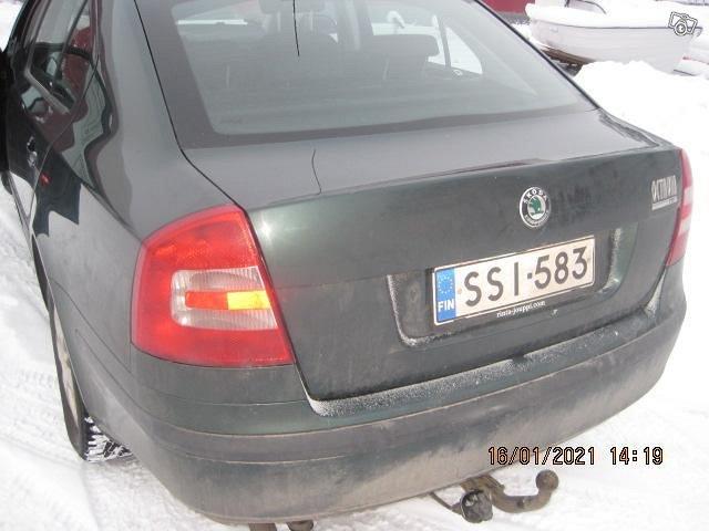 SKODA OCKTAVIA 2007 VIHREÄ 2,0l DIESEL KATS 4400 2