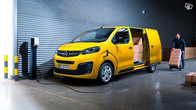 2020 Opel VIVARO e-Van M Comfort 136 hv automaatti