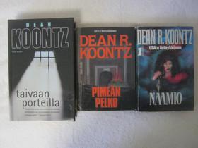 Dean Koontz kolmen kirjan paketti, Imatra/posti, Kaunokirjallisuus, Kirjat ja lehdet, Imatra, Tori.fi