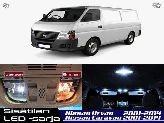Nissan Urvan (E25) Sisätilan LED -sarja ;x10