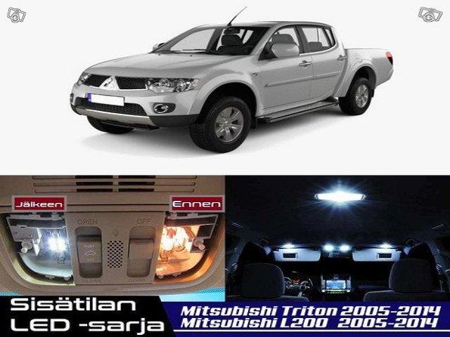 Mitsubishi L200 (MK4) Sisätilan LED -sarja ;x9