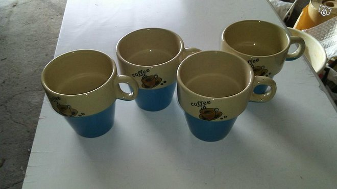 Coffeemukit 4kpl