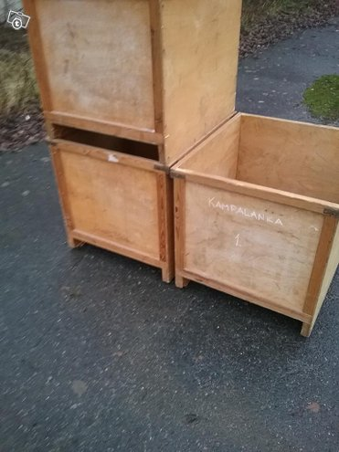 Säilytys laatikoita