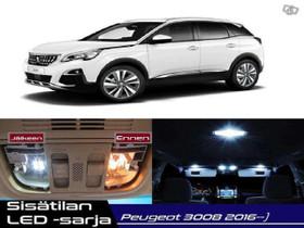 Peugeot 3008 (MK2) Sisätilan LED -sarja ;x16, Lisävarusteet ja autotarvikkeet, Auton varaosat ja tarvikkeet, Tuusula, Tori.fi