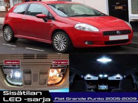 Fiat Grande Punto Sisätilan LED -sarja ;x12, Lisävarusteet ja autotarvikkeet, Auton varaosat ja tarvikkeet, Tuusula, Tori.fi