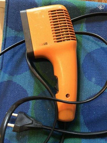 Retro hiustenkuivaaja ESGE- merkki