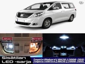 Toyota Vellfire (AH20) Sisätilan LED -sarja ;x17, Lisävarusteet ja autotarvikkeet, Auton varaosat ja tarvikkeet, Tuusula, Tori.fi