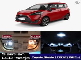 Toyota Sienta (XP170) Sisätilan LED -sarja ;x8, Lisävarusteet ja autotarvikkeet, Auton varaosat ja tarvikkeet, Tuusula, Tori.fi