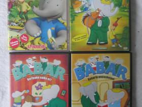 Babar lasten dvd:t, neljä erilaista, Imatra/posti, Elokuvat, Imatra, Tori.fi