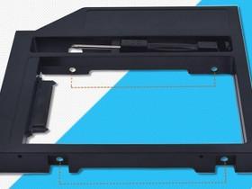 DVD-HDD adapterikehikko ;SSD ; HDD ; 9.5mm, Kannettavat, Tietokoneet ja lisälaitteet, Tuusula, Tori.fi