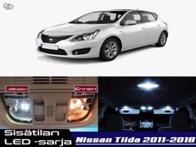 Nissan Tiida (C12) Sisätilan LED -sarja ;x11, Lisävarusteet ja autotarvikkeet, Auton varaosat ja tarvikkeet, Tuusula, Tori.fi