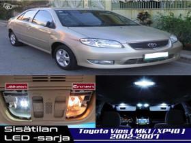 Toyota Vios (XP40) Sisätilan LED -sarja ;x6, Lisävarusteet ja autotarvikkeet, Auton varaosat ja tarvikkeet, Tuusula, Tori.fi