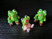 Kinder Surprise 1993 Cheeky Frogs Sammakot lelu