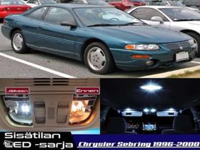 Chrysler Sebring (MK1) Sisätilan LED -sarja ;x12, Lisävarusteet ja autotarvikkeet, Auton varaosat ja tarvikkeet, Tuusula, Tori.fi