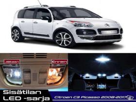 Citroen C3 Picasso Sisätilan LED -sarja ;x10, Lisävarusteet ja autotarvikkeet, Auton varaosat ja tarvikkeet, Tuusula, Tori.fi