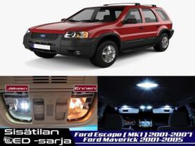 Ford Escape (MK1) Sisätilan LED -sarja ;x8, Lisävarusteet ja autotarvikkeet, Auton varaosat ja tarvikkeet, Tuusula, Tori.fi