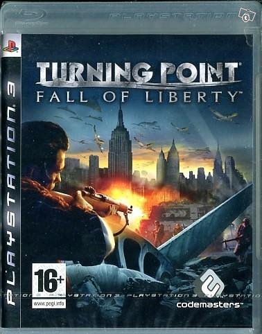 Turning point Fall of Liberty PS3 Uusi/Muoveissa