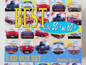 Best of the 50's and 60's (5 CD:n boksi), Musiikki CD, DVD ja äänitteet, Musiikki ja soittimet, Kajaani, Tori.fi