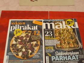Kaksi ruokalehteä, Lehdet, Kirjat ja lehdet, Jyväskylä, Tori.fi