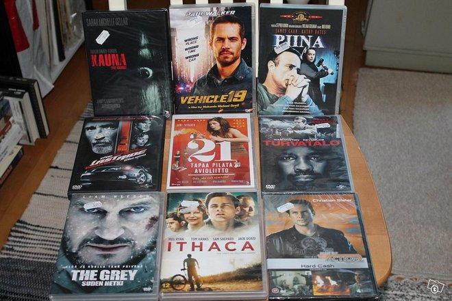 DVD elokuvia