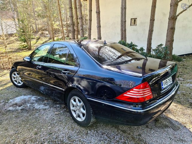 Mercedes S-320 CDI vm 2004 . Soft Close, kuva 1