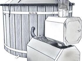 Uuni paljun kamiinan hormiin Paljuuni, Muu piha ja puutarha, Piha ja puutarha, Oulu, Tori.fi