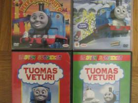 Tuomas Veturi neljä dvd-elokuvaa, Imatra/posti, Elokuvat, Imatra, Tori.fi