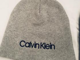 Käyttämätön Calvin Klein harmaa paksu neulepipo, Laukut ja hatut, Asusteet ja kellot, Tampere, Tori.fi