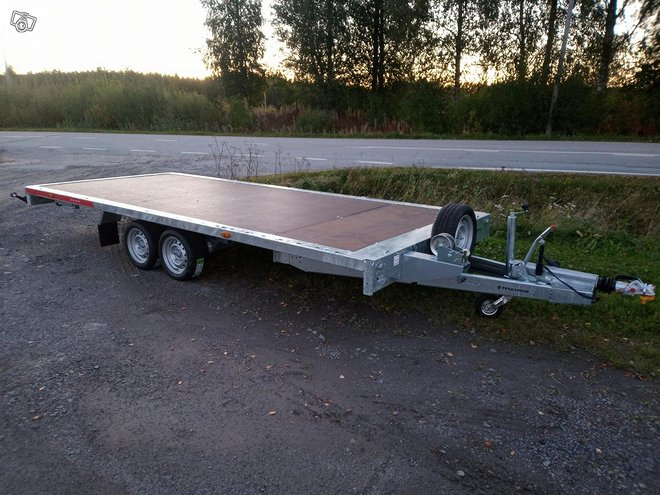Peräkärry Temared Carplatform 5121S 3500
