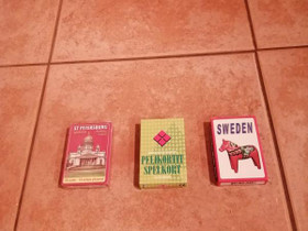 Pelikortteja, avaamattomia pakkauksia, Muu keräily, Keräily, Tampere, Tori.fi