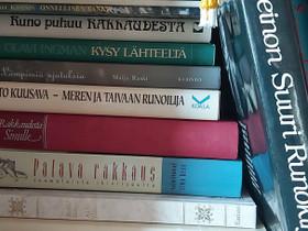 Runokirjoja yms. 12 kpl, Muut kirjat ja lehdet, Kirjat ja lehdet, Vaasa, Tori.fi