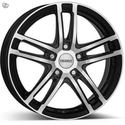6.5X16 5X112 ET46 KR57.1 DEZENT TZ Black polished