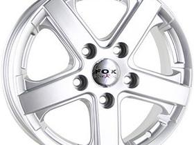 6.5X15 5X160 ET50 KR89.1 FOX VIPER VAN silver 950K, Renkaat ja vanteet, Raahe, Tori.fi
