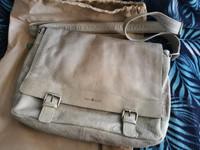 Greenburry hiekanahkainen muistikirjan laukku