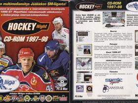 Hockey Night CD 1995-98, Tietokoneohjelmat, Tietokoneet ja lisälaitteet, Valkeakoski, Tori.fi