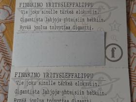 Finnkino leffaliput (3kpl) 31.3.2021 voimassa, Keikat, konsertit ja tapahtumat, Matkat ja liput, Helsinki, Tori.fi