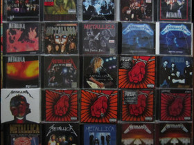 Kymmenittäin Erilaisia METALLICA cd:eitä, Musiikki CD, DVD ja äänitteet, Musiikki ja soittimet, Kouvola, Tori.fi